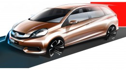 Honda MPV Design Sketch