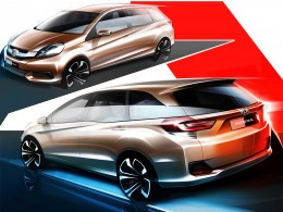 Honda MPV Design Sketches