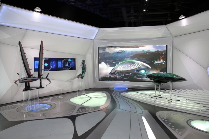 Hyundai Stand   MY Baby 2013 Futuristic Concepts