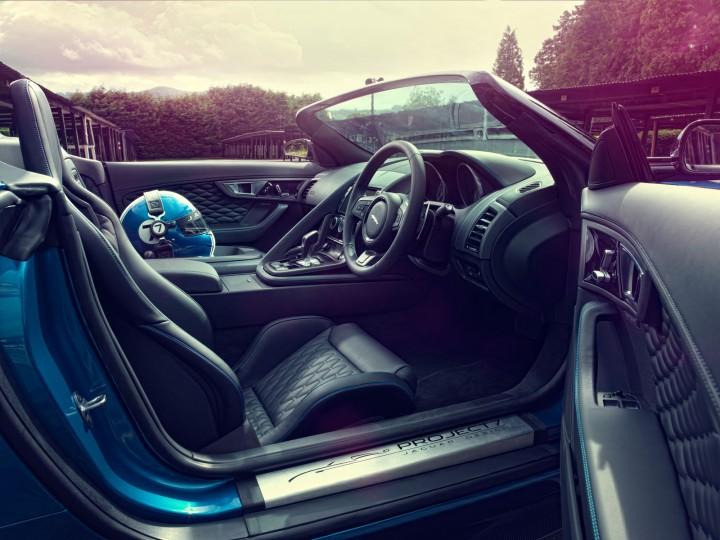 Jaguar Previews Project 7 Concept Car Body Design