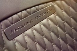 Jaguar Project 7 Concept - Seat Leather Stitching detail