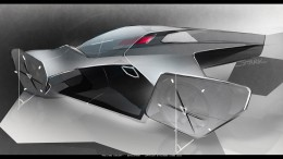 Koenigsegg Prestera Concept by Richard Stark - Design Sketch