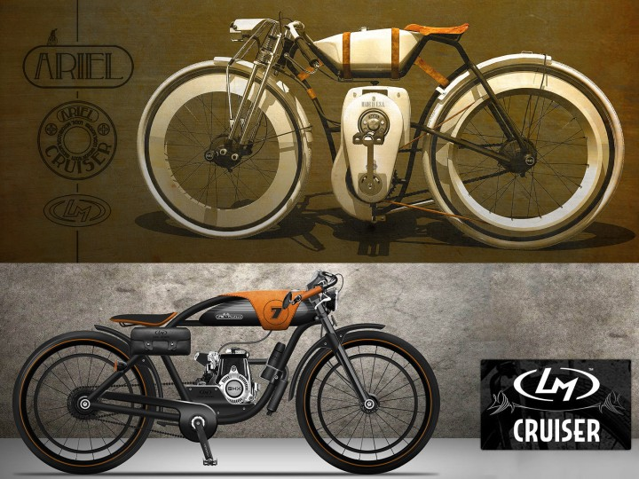 LM Cruiser Bike Design Challenge: the winners