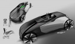 Skoda Respir Concept by Jan Christian Osnes - Design Sketch04