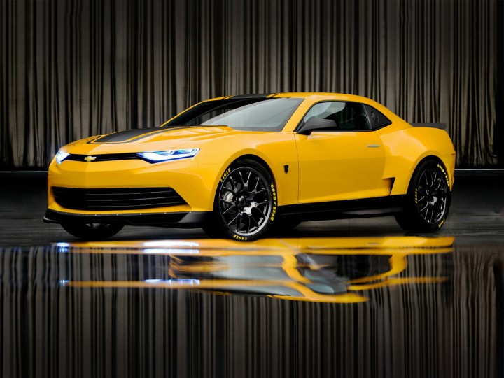 Transformers 4: Camaro Bumble Bee Concept