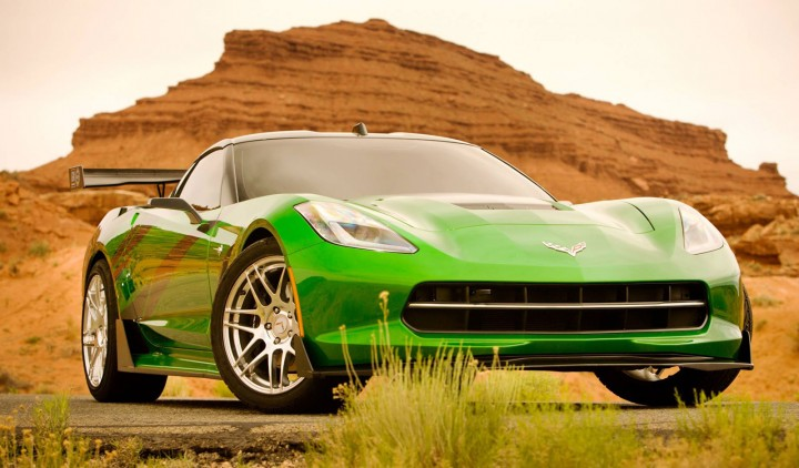 Transformers 4 - Corvette Stingray