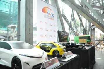 VACC Automotive Design Awards 2013 - Scale models on display