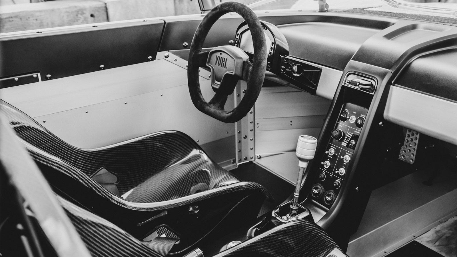 Vuhl Supercar Interior Car Body Design