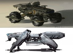 CGMA online Class: Vehicle and Mech Design