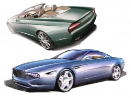 Zagato Aston Martin DB9 Spyder and DBS Coupe Centennial - Design Sketches