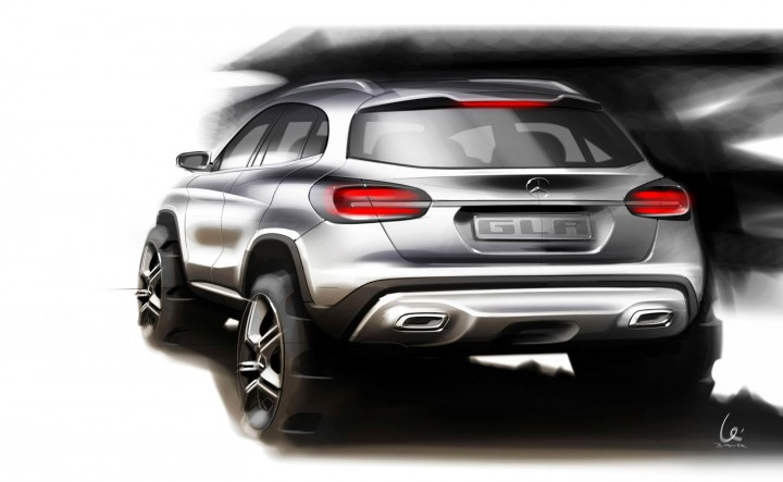 Mercedes-Benz GLA - Design Sketch