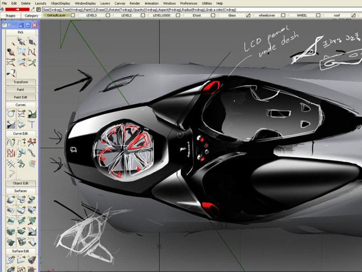 Alias Industrial Design Software Autodesk Auto Design Tech