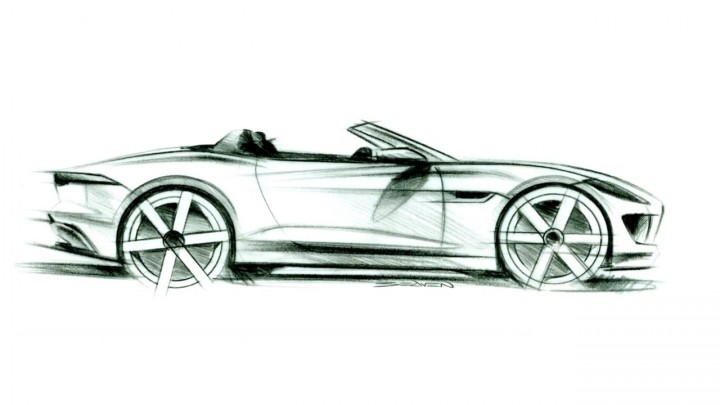 Jaguar F-Type - Design Sketch