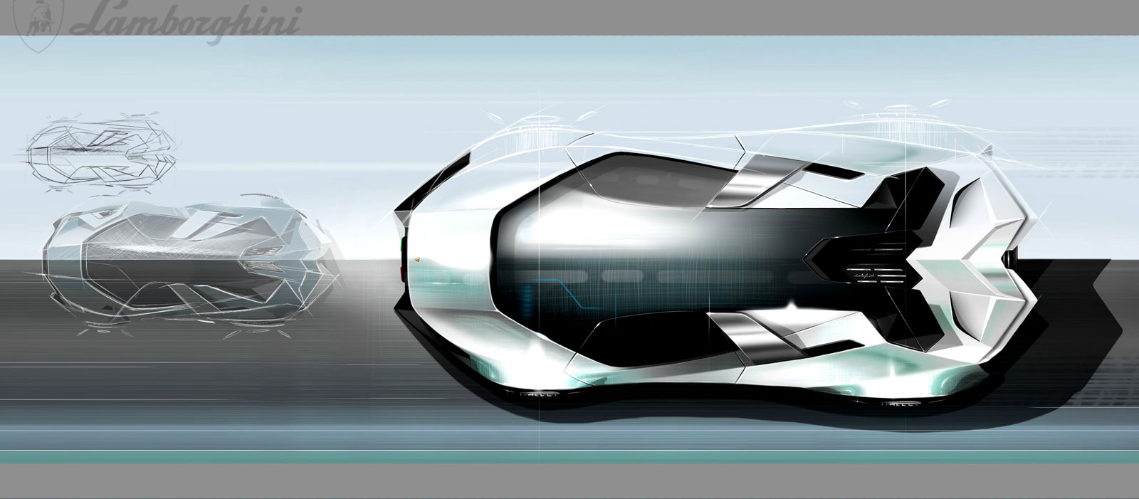... Lamborghini Diamante Concept   Design Sketch ...