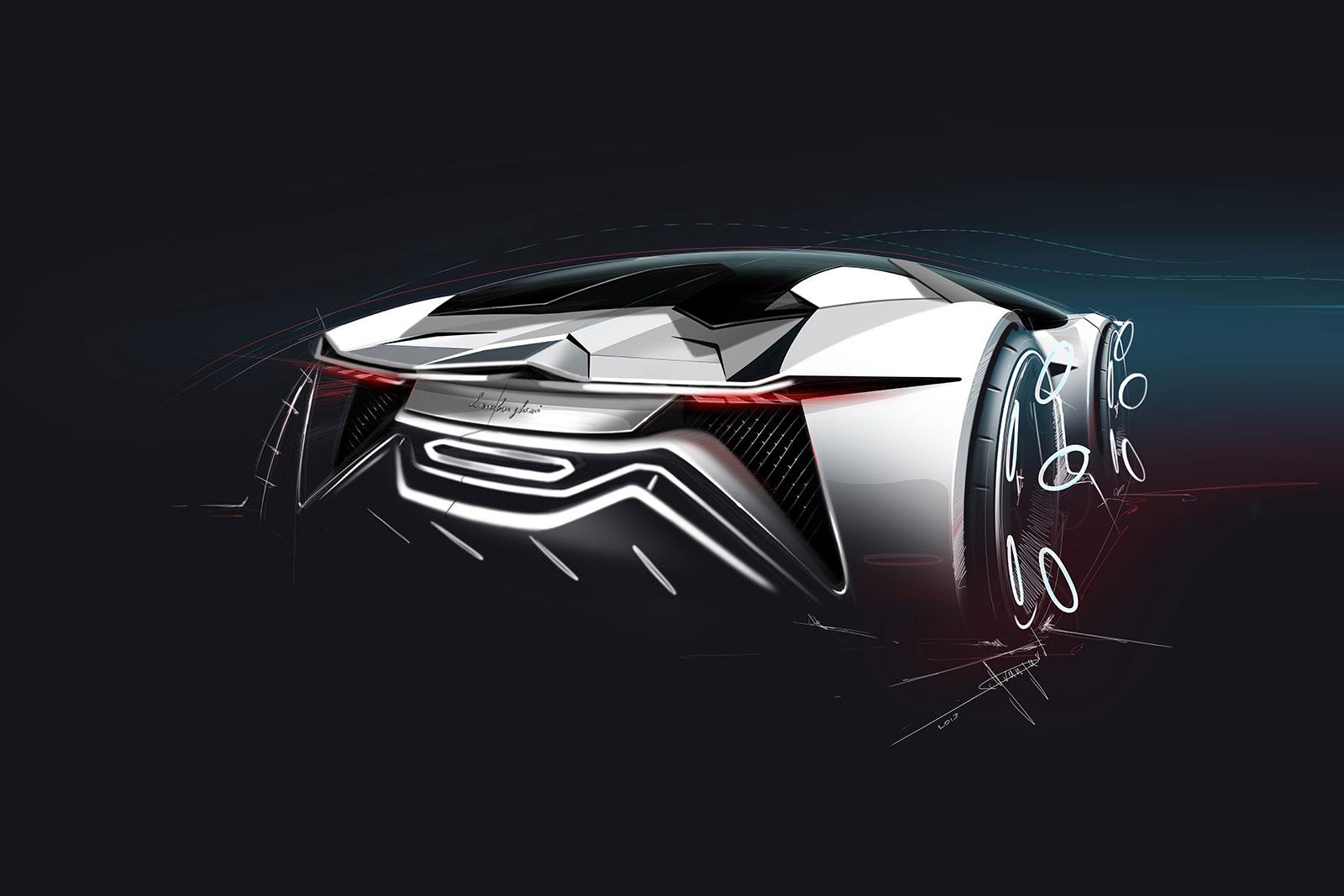 Lamborghini Diamante Concept Design Sketch Car Body Design