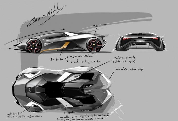 lamborghini diamante concept car body design. Black Bedroom Furniture Sets. Home Design Ideas