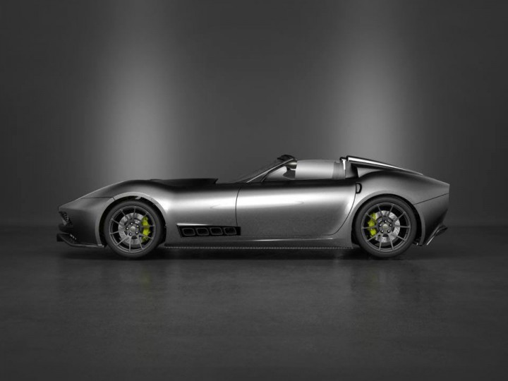 Lucra Cars previews sleek roadster - Car Body Design