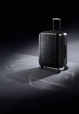 Mercedes benz style opens design exhibition image gallery for Mercedes benz suitcase