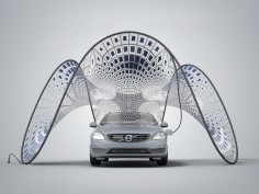 SDA designs Pavilion for Volvo's New Hybrid Electric