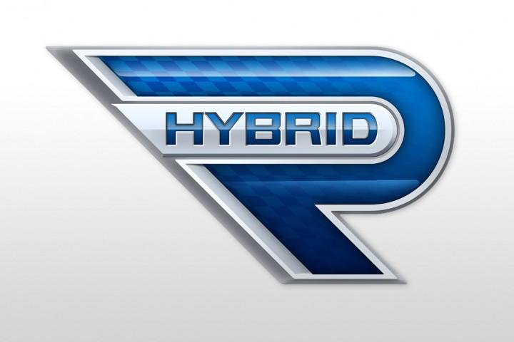 Hybrid Technology Logo Toyota Hybrid-r Concept Logo