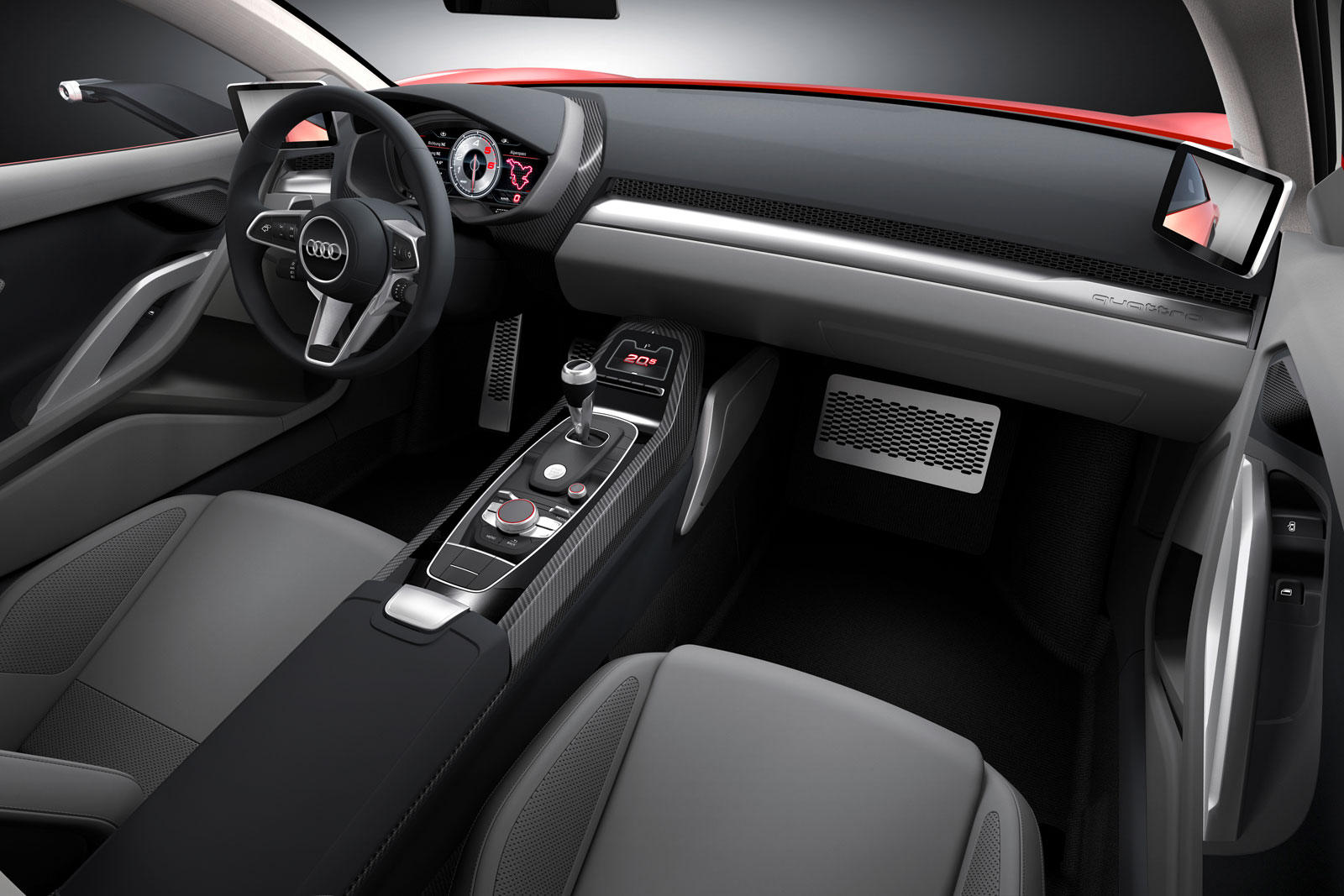 audi nanuk quattro concept interior car body design. Black Bedroom Furniture Sets. Home Design Ideas