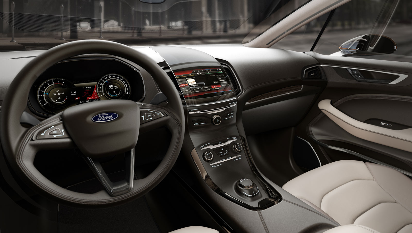 Ford S-MAX Concept Interior - Car Body Design
