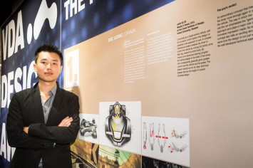 1st winner Eric Leong at VDA Design Award