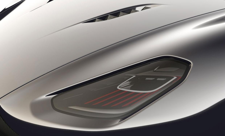 Aston Martin DBC Concept Headlight Car Body Design - Aston martin headlights