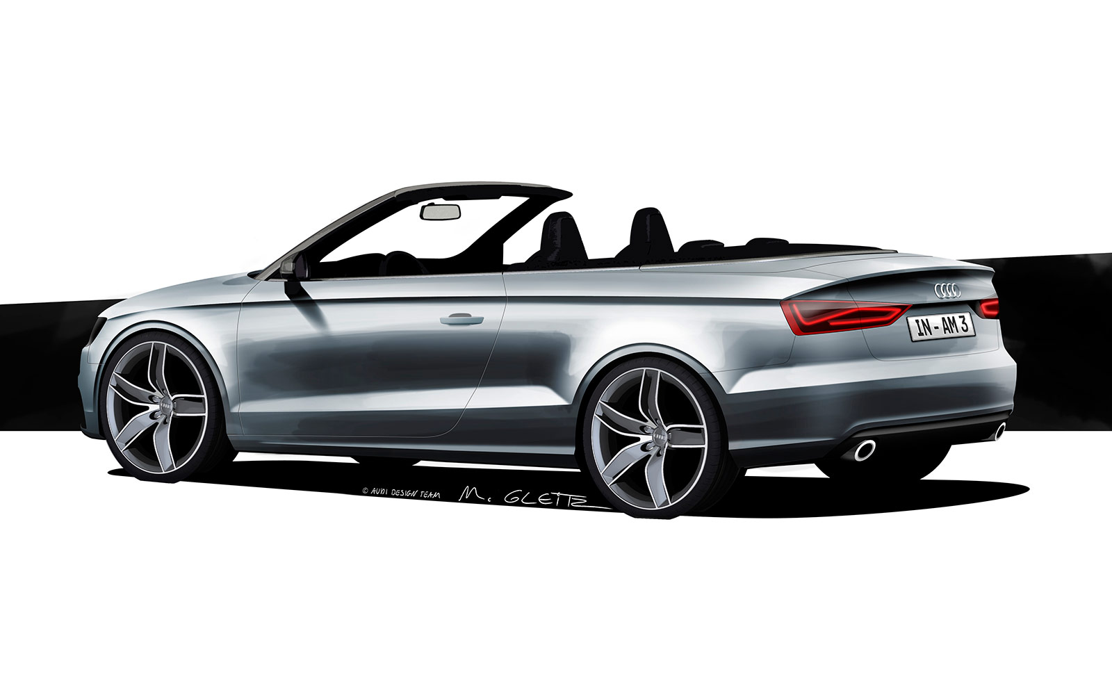 audi a3 cabriolet design sketch car body design. Black Bedroom Furniture Sets. Home Design Ideas