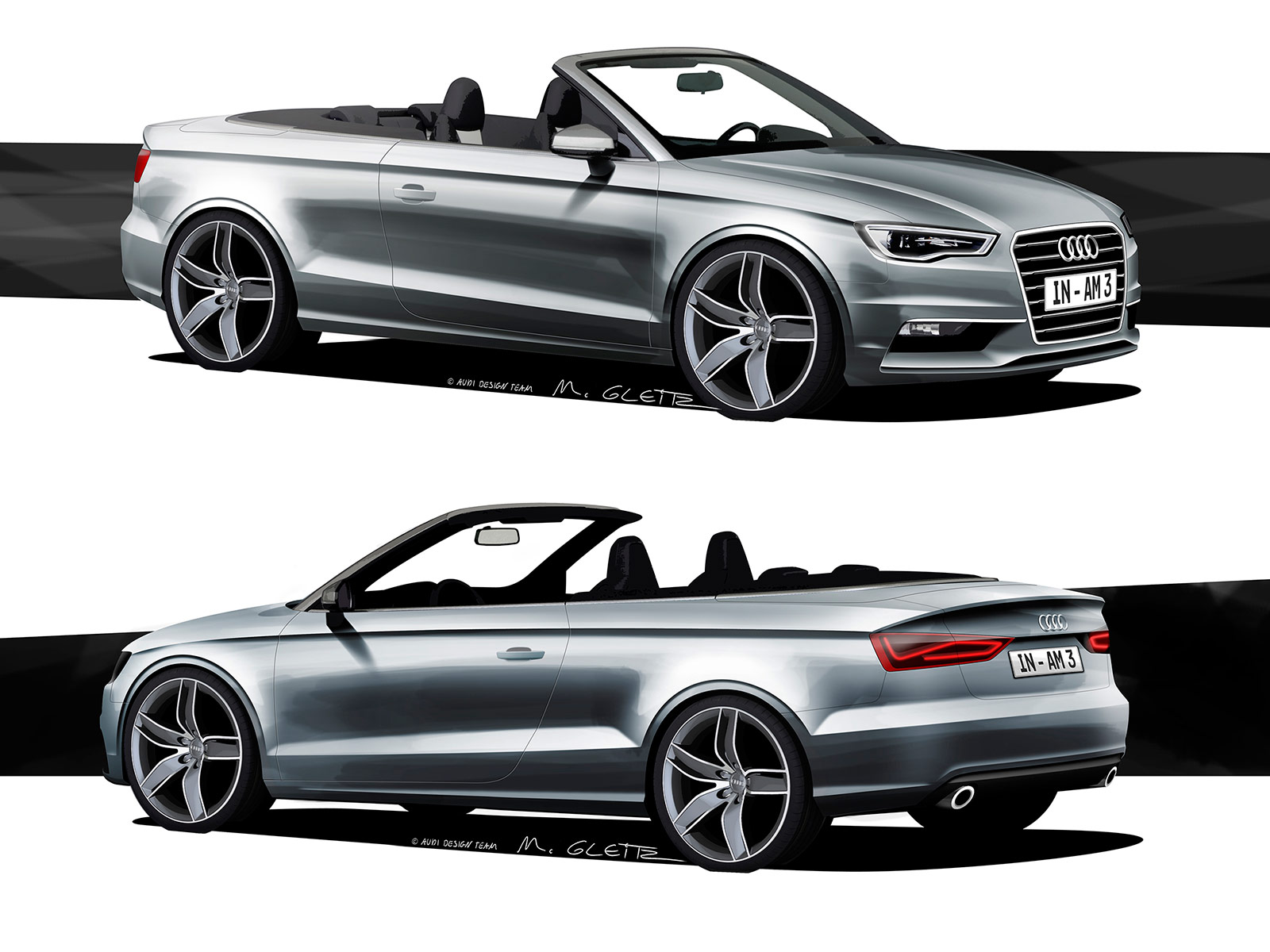 audi a3 cabriolet design sketches car body design. Black Bedroom Furniture Sets. Home Design Ideas
