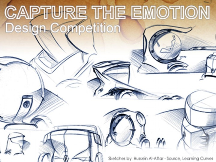 """Capture The Emotion"" design sketching competition"