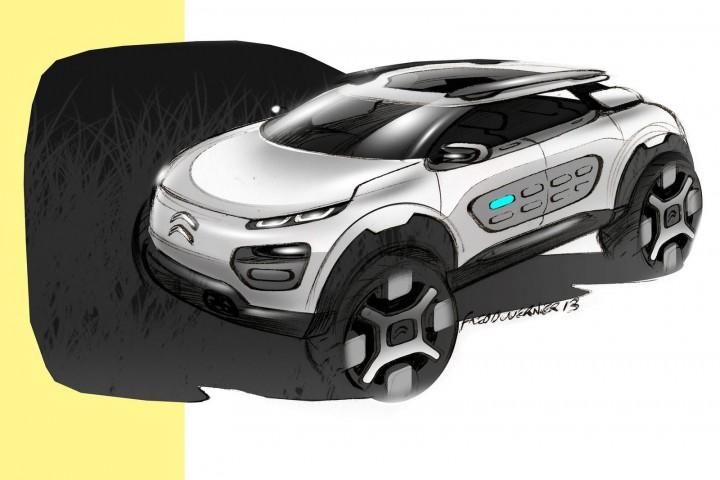 Citron Cactus Concept Car Body Design