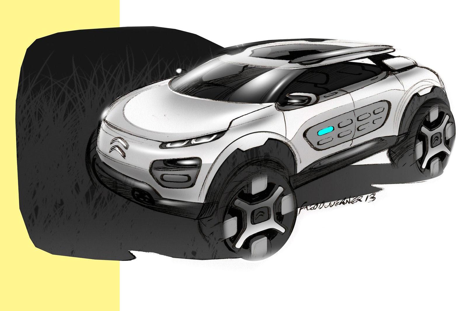 Citroen cactus concept design sketch car body design for Citroen cactus concept