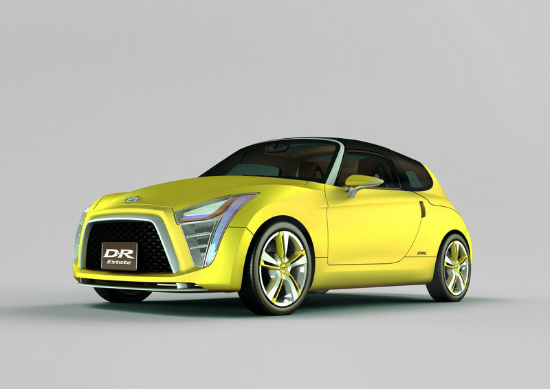 Daihatsu unveils eight compact concept cars  Car Body Design