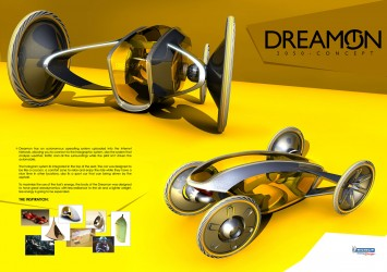 Dreamon Concept by Cristian Polanco