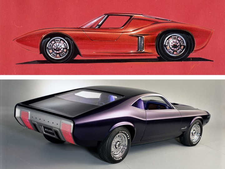 design history ford mustangs that never were car body design. Black Bedroom Furniture Sets. Home Design Ideas