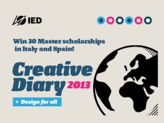 IED announces scholarships for 2013-2014 Master Courses