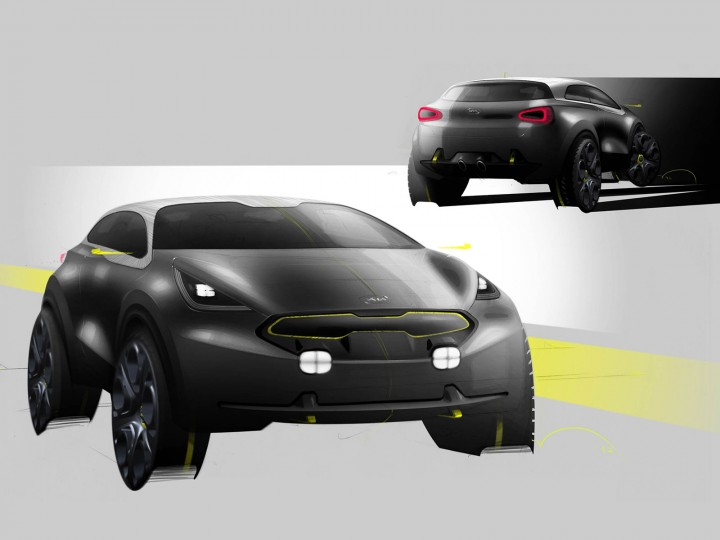 kia niro concept car body design. Black Bedroom Furniture Sets. Home Design Ideas