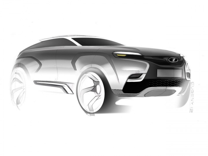 Lada launches car design sketch competition