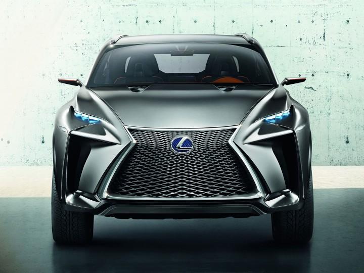 Lexus LF-NX Concept - Car Body Design