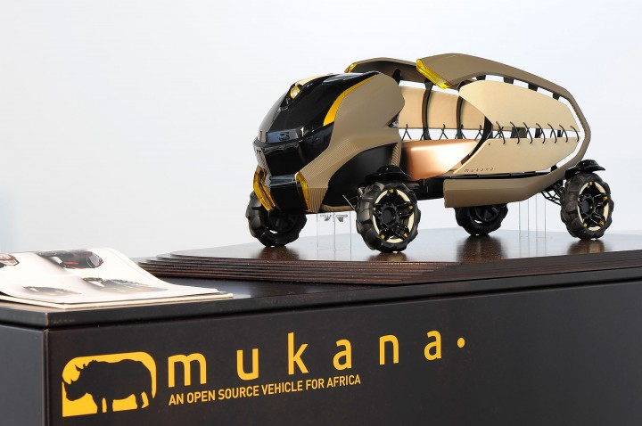 Mukana Concept by Kirk Dyer - Scale Model
