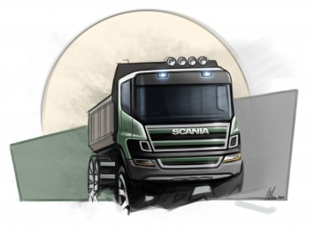 Scania Truck design sketch
