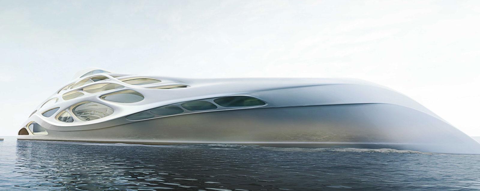 128m Superyacht Concept Master Prototype By Zaha Hadid