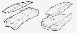 Audi fleet shuttle quattro concept - Design Sketches
