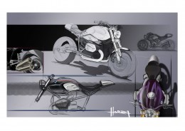 BMW R nineT - Design Sketches