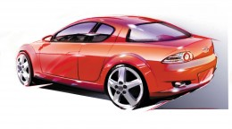 2000 Mazda RX-8 - Design Sketch