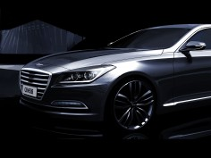 Hyundai previews the all-new Genesis