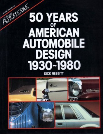 Years of America Automobile Design - 1930-1980 - Cover