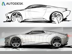 Autodesk releases automotive design showreel