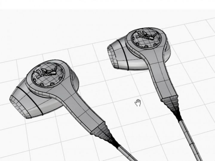 3D Modeling Ear Buds in Rhino